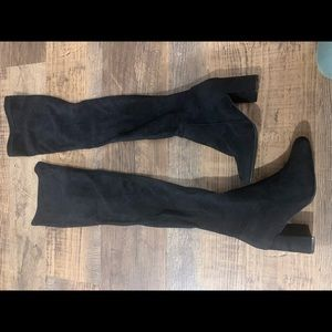 Jeffery Campbell over the knee boots